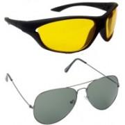 Redleaf Sports, Aviator Sunglasses(Yellow)