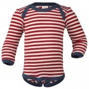 Engel - Baby Body L/S Merinowolle - Merino ondergoed maat 86 / 92 rood