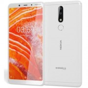 "Smartphone, NOKIA 3.1 PLUS TA-1104, Dual SIM, 6.00"", Arm Quad (1.6G), 2GB RAM, 16GB Storage, Android, White"