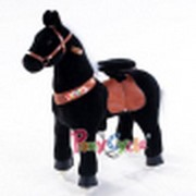 Smart Gear Pony Cycle Black Stallion Riding Toy 2 Sizes World s First Simulated Riding Toy for kids Age 4-9 Years Ponycycle ride-on medium