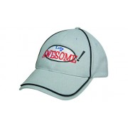 Headwear Professional Six Panel Brushed Heavy Cotton Cap With Piping 4173