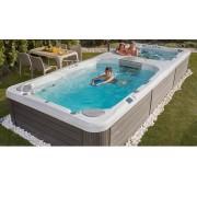 Wellis Rio Grande Swimspa medence és jakuzzi gépészettel együtt 5,8x2,3x1,5m
