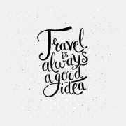 travel is always sticker poster travelling quotes for travellers size:12x18 inch multicolor