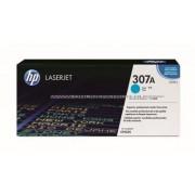 HP CE741A Toner Cyan 7,3k No.307A Eredeti HP kellékanyag cikkszám: CE741A