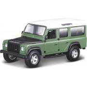 Land Rover Defender 110 (Groen) 1/32 Bburago - Modelauto - Schaalmodel - Model auto