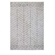Bloomingville Habarana - Tapis d'inspiration berbère - Couleur - Blanc, Dimensions - 200x300 cm