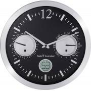 Ceas de perete analogic radiocomandat Renkforce cu afisarea datei, 30 cm