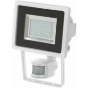 SMD-LED lampa L DN 2405 PIR IP44 infravörös mozgásérzékelovel 24x0,5W 950lm fehér Energiahatékonysági osztály A
