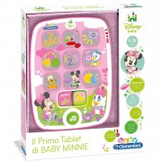 Baby clementoni il tablet di baby minnie 17139.2