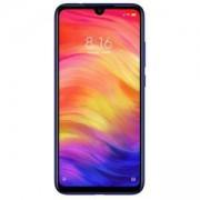 Смартфон Xiaomi Redmi Note 7 (син), поддържа 2 sim карти, 6.3 инча (16.00 cm) FHD+ IPS дисплей, осемядрен Snapdragon 660 2.2 GHz, MZB7544EU