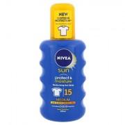 Nivea Sun Protect & Moisture latte in spray solare SPF15 200 ml