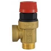 Supapa siguranta pentru instalatie C.O. cu apa calda 1/2x1/2 6 BAR