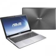 Лаптоп ASUS K550VX-XX025D, Intel Core i5-6300HQ, 8GB, NVIDIA GeForce GTX 950M, 1TB, сребрист, 15.6 инча, 90NB0BB1-M00290