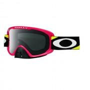Oakley OO7068 24 O2 MX HERITAGE RACER RED YEL DARK GREY motocross szemüveg