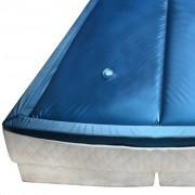 vidaXL Воден матрак за единично легло, 220x100 см, F5