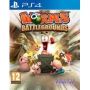 Joc Worms Battlegrounds Pentru Playstation 4