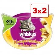 Whiskas Snacks para gatos en oferta: 2 + 1 ¡gratis! - Temptations - Pavo (3 x 72 g)