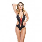 Body Suicide Preto Hot Flowers - ShopSensual