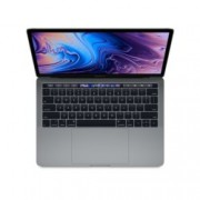 "Лаптоп Apple MacBook Pro 13"" (MR9Q2ZE/A) Space Grey, четириядрен Coffee Lake Core i5-8259U 2.3/3.8GHz, 13.3"" (33.78 cm) IPS TrueTone Display, 8GB DDR4, 256GB SSD, 4xUSB-C(Thunderbolt 3), macOS High Sierra, 1.37 kg, Touch Bar with Touch ID"