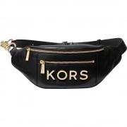 Medium Embellished Leather Belt Bag