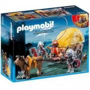 Комплект Плеймобил 6005 - Рицари ястреби с каруца, Playmobil, 291061