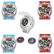 Yokai Yo-kai Watch 5 Piece Set - Watch, 2 Season 1 Blind Bags, 2 Season 2 Blind Bags Including 3 Mystery Medallions