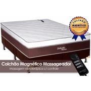 Conjunto Box-Colchão Magnético Massagem+Cama - Casal 138