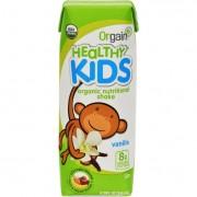 Orgain Organic Nutrition Shake - Vanilla Kids - 8.25 fl oz - Case of 12