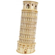 Toyhouse Leaning Tower of Pisa 3D Puzzle, Multi Color