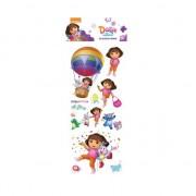 Geen Poezie album pop-up stickers Dora