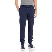Lacoste XH5528 Pantalón Deportivo para Hombre con Forro Polar, Azul Marino, 3X-Large