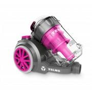 Aspiradora Yelmo As3228 Mega Power Con Cepillo Para Alfombra - Rosa.