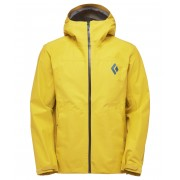 Black Diamond M Liquid Point Shell - Ochre - Vestes de Pluie XL
