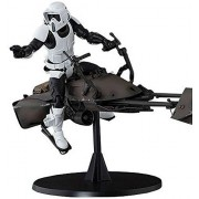 Bandai S.H.Figuarts Star Wars Scout Trooper & Speeder Bike Set Japan Import F/S