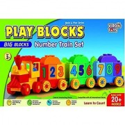 Play Block Number Train Set
