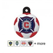Quick-Tag MLS Circle Dog & Cat ID Tag, Large, Chicago Fire