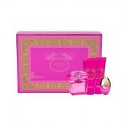 Versace Bright Crystal Absolu confezione regalo eau de parfum 90 ml + doccia gel 100 ml + eau de parfum 10 ml + lozione corpo 100 ml donna