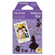 Fujifilm Instax Mini Films Disney Alice in Wonderland Usable with Polaroid Mio & 300