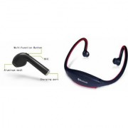CLAIRBELL Bluetooth Headset & BS19C Bluetooth Headset for MICROMAX CANVAS BEAT(HBQ I7R Bluetooth Headset | BS19C Bluetooth Headset With Mic Sports Headset )