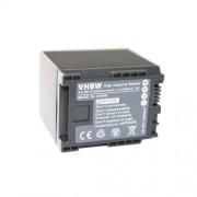 Batterie Li-Ion 1400mAh pour caméscope CANON Legria HF M41, HF M46, HF M406, XA10, remplace le modèle BP-819 - avec info-puce