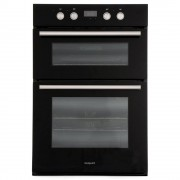 Hotpoint DD2844CBL Double Built In Electric Oven - Black