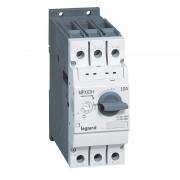 LEGRAND Disjoncteur moteur MPX3 63H - réglage thermique 14A à 12A - pouvoir de coupure 50kA en 415V