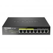 D-Link DGS-1008P Switch 8 Portas