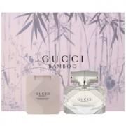 Gucci Bamboo lote de regalo VII. eau de toilette 50 ml + leche corporal 100 ml