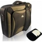 Geanta Laptop Natec Pitbull 17 inch Black-Olive