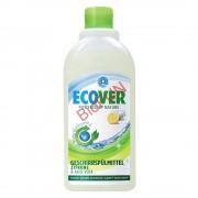 Detergent lichid pentru vase, cu lamaie si aloe vera