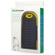 Maxy Caricabatterie Solare F1 Power Bank Carica Batteria Usb 6000mah Universale Yellow Per Modelli A Marchio Nodis