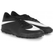 Nike BRAVATA TF Men Football Shoes(Black, White)