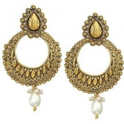 Gold plated trendy /Party wear trendy high quality earring only on 299