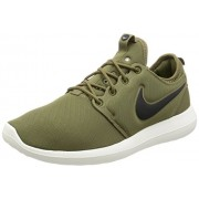 Nike Mens Roshe Two Running Shoes IGUANA/BLACK-SAIL-VOLT 844656-200 Size 8. 5